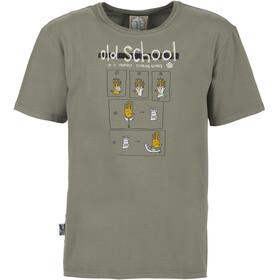 E9 Old School T-shirt Heren, grijs